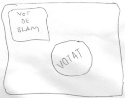 Vot de blam